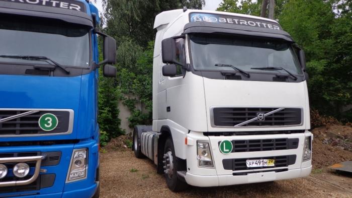 грузовой тягач-седельный Volvo FH13