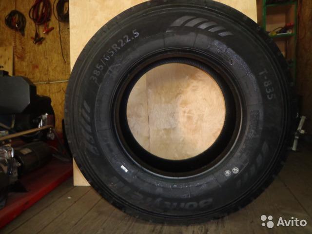 Автошина 385/65R-22.5 Т-835